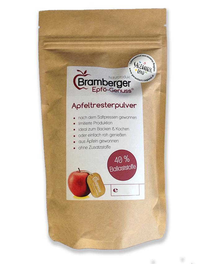 Bramberger Apfeltresterpulver 400g
