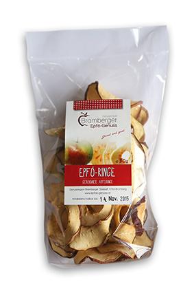 Getrocknetes Obst Epfö-Ringe 50g